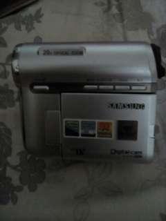 Samsung Digital cam手提攝錄機。九成新。(但要自己配電)