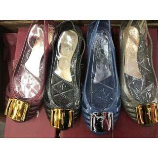 Salvatore Ferragamo jelly shoes