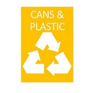 A4 size : Malaysia Standard Recycle Colour-Orange (Cans & Plastic)