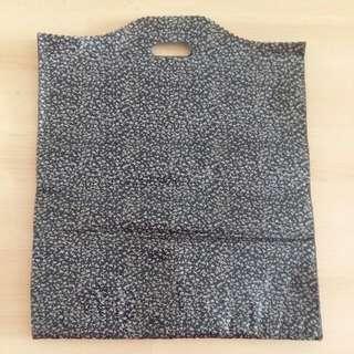 Black Design Plastic Bag