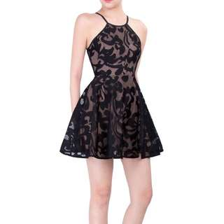 Doublewoot  Danfisa Black Dress