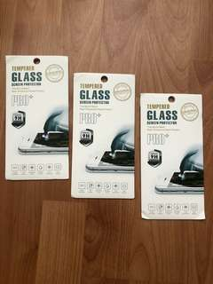 Screen protector - tempered glass iphone 7+, 6+ dan 8+