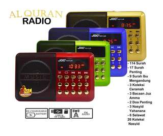 Radio Al Quran INSTOCKS
