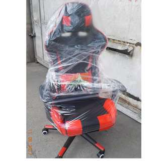 GAMING CHAIRS RED and BLACK--KHOMI