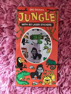 240 Mini Stickers <Jungle>