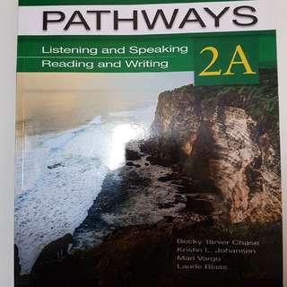 Buku Bahasa Inggris Pathways 2A dari National Geographic