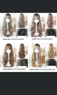 *Best selling wig😍 Preorder Natural long korean wavy ladies wig*waiting time 15 days after payment is made *Chat to buy to order