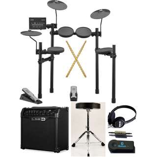 Yamaha DTX402K (NEW!!) with free drum throne + pwp drumsticks, headphone, BT receiver, amp (in stock) (limited time)