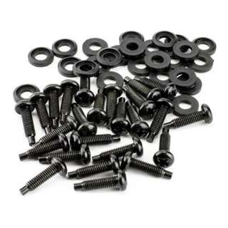 #10-32 UNC Rack Screws (w/ Washers, Pilot Point, pack of 25)