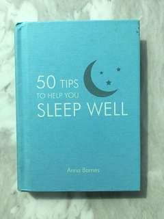 50 Tips to help you sleep well