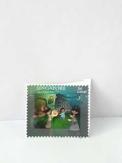 Vintage olden days stamp