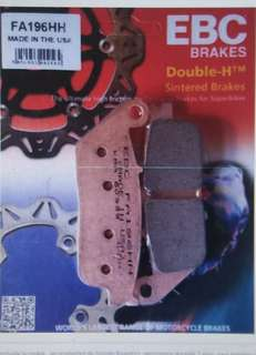 New Honda Fury EBC HH Sintered Brake Pads (Front & Back)