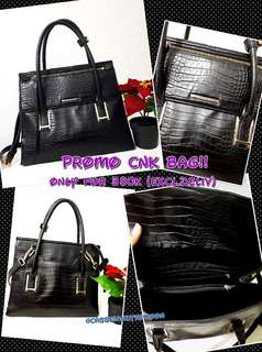PROMO CNK LEATHER BAG!!