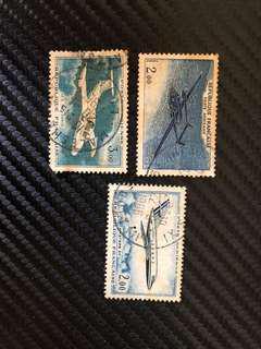 Vintage stamps - Republique Francaise Poste Aerienne
