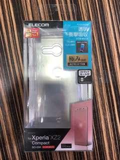 soxy xz2 compact 軟case  衝撃吸収 透明 elecom 日本直送