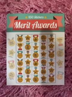 450 Mini Stickers <Merit Awards>