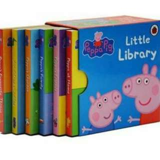 PEPPA PIG LITTLE LIBRARY + FAIRY TALE LAND (FREE DELIVERY)