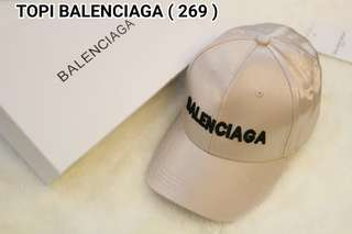 PO.3-5hari. Balenciaga baseball hat. Unisex. With Box. (LIMITED STOCK). 2 Warna.