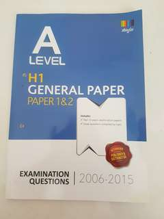 (A Level) General Paper TYS