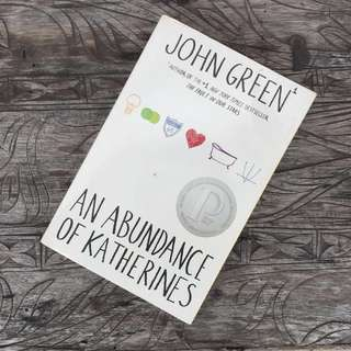 An Abundance of Katherines - John Green