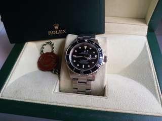 Rolex 16610 Submariner T25黄夜光