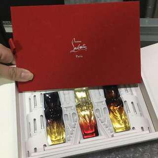 Christian louboutin sample 香水set