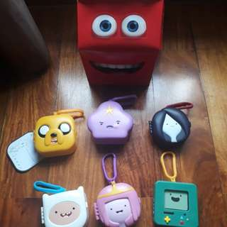 Happy Meal Adventure Time Toys