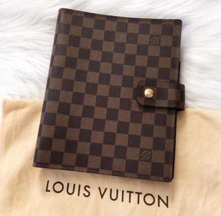 LOOKING FOR Louis Vuitton Agenda GM Damier Ebene