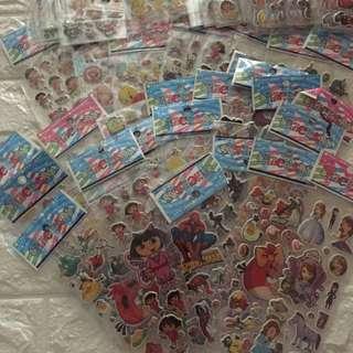 Cartoon sticker for children kid