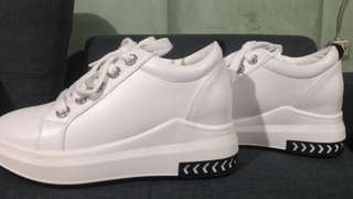 Stan Smith Inspired White Shoes