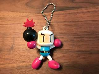 🚚 轟炸超人 炸彈超人 Bomberman 公仔 吊飾 鑰匙圈 收藏品