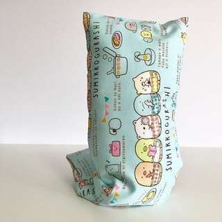 Bean Sprout Husk Pillow / Beanie Pillow , Fabric from 🇯🇵 ( 100% Handmade 100% Cotton , Premium Quality!) sumikko gurashi