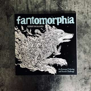 Fantomorphia: Adult Colouring Book (Brand New)