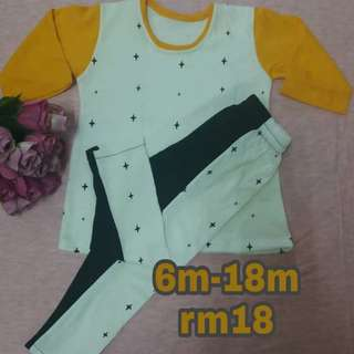 Baju Baby Knitt Cotton (6m - 18m)