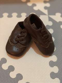 Mamas and Papas Brown Lace Up Shoe