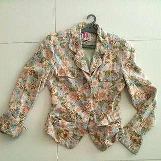 PRICE REDUCED!Flower Jacket
