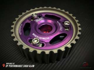 Cam Shaft Pulley HKS For Honda B16 Purple color T7 Aluminium