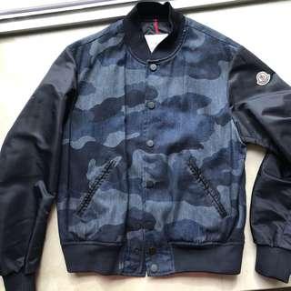 Moncler Camo Bomber Jacket sz 2