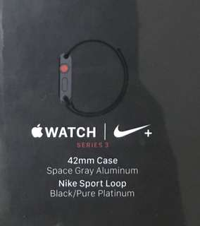 Apple Watch Series 3 LTE 42mm Nike (GPS+Cellular) S3