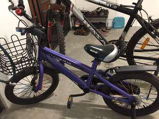 16 inch kid 4 wheel bike (giveaway)