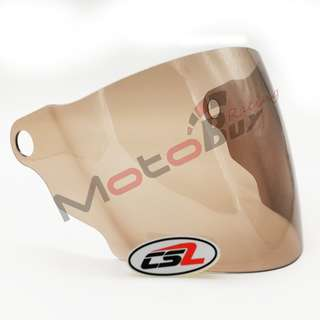 VISOR FOR LTD / SWAN / X-DOT / MV STAR - LIGHT SMOKE (CSL)
