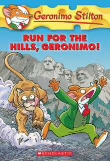 (BN) Geronimo Stilton #47 Run for the Hills, Geronimo!
