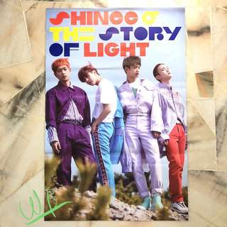 SHINEE - The story of light ep.2 & ep.3 ~ Posters