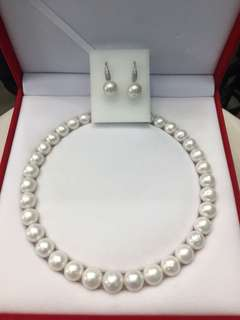 Fresh water pearl set
