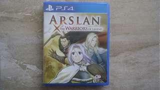 Kaset BD PS4 Original Game Arslan The Warriors Legend