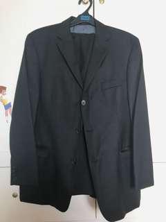 Hugo boss Original jas set Black stripe