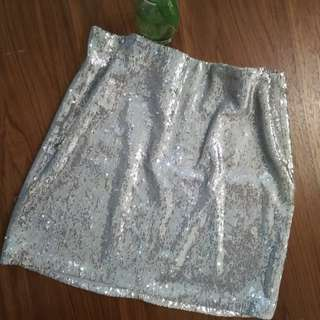 Miss Selfridge Inspired Sequined Party Mini Skirt