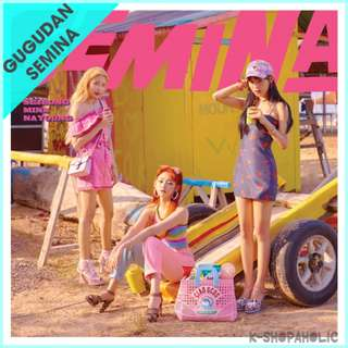 GU9UDAN SEMINA - 1st Single Album ' SEMINA '