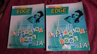 2pcs Edge Listening Book 1A