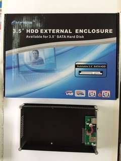 "3.5"" HDD External Enclosure"